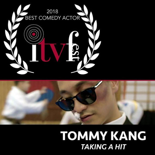 Best Comedy Actor 2018 - Tommy Kang