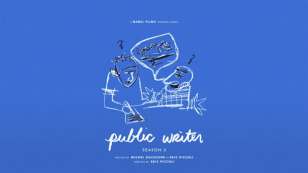 Public Writer poster