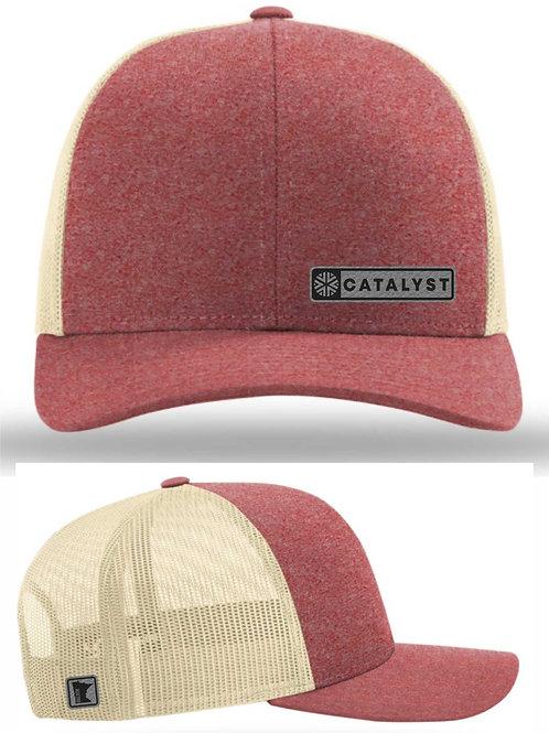 TRUCKER CAP - RED