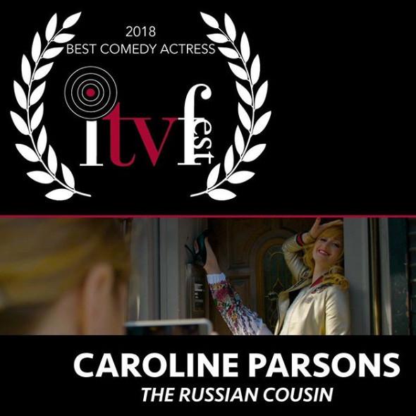 Best Comedy Actress 2018 - Caroline Parsons