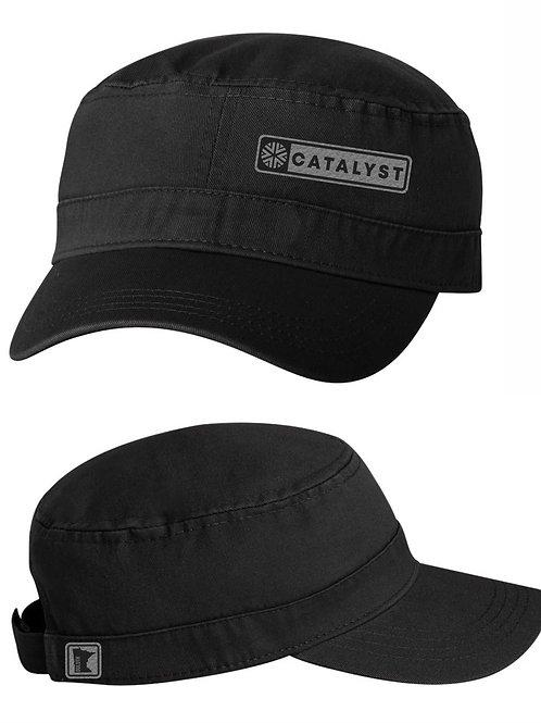 MILITARY CAP - BLACK