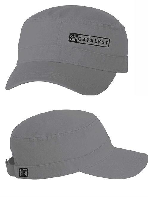 MILITARY CAP - GREY