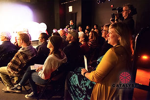 This pass grants you in-person access to any single day of content screenings & pitch presentations at the 2021 Catalyst Content Festival in Duluth, MN from Sept 29-Oct 2, 2021. Does not include access to panels, table readings, and events.
