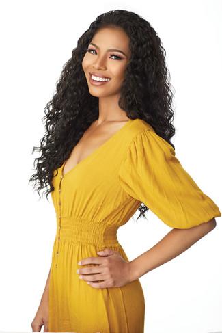 Sarah Osman modeling for Sensationnel