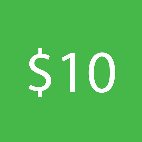 copy of $10 Donation