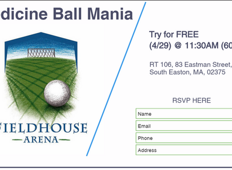 Medicine Ball Mania @ The Field House Arena: Part 2
