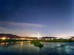 금강의 여름 밤