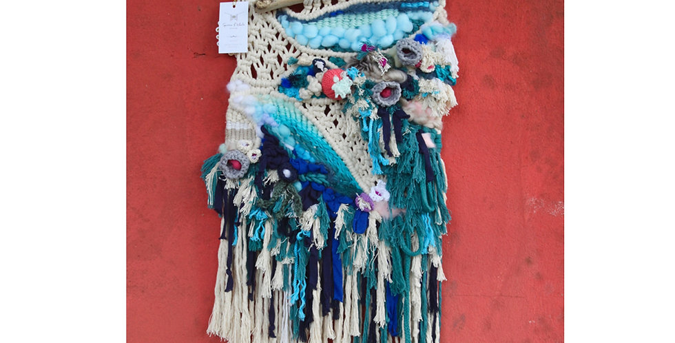 'The Sea' wall hanging