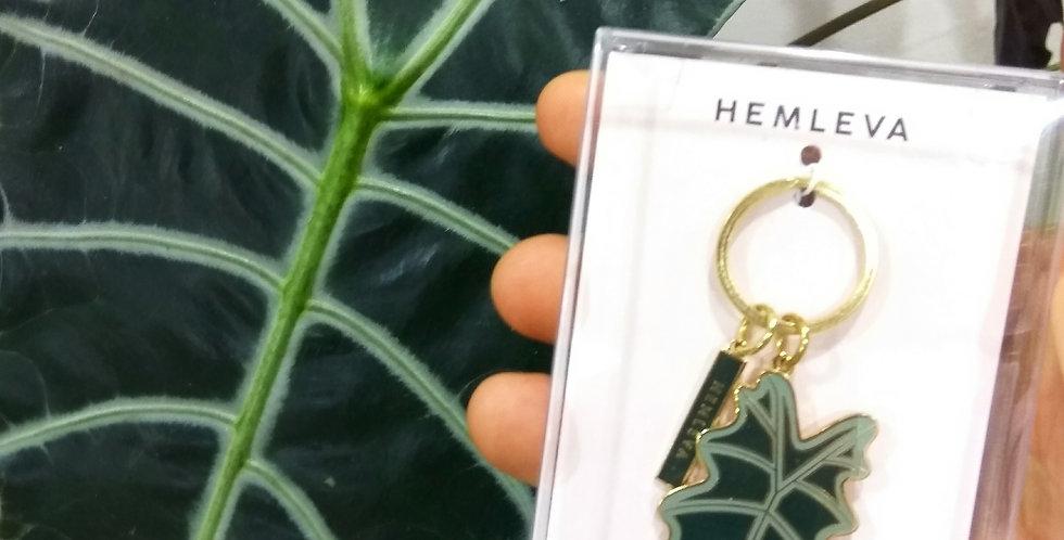 llavero alocasia de Hemleva