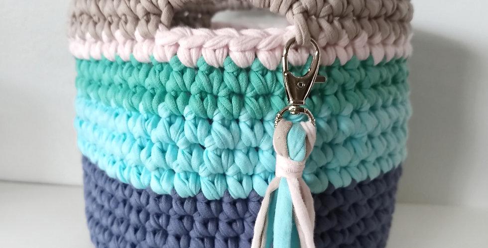 "Crochet Basket ""Bermuda"""