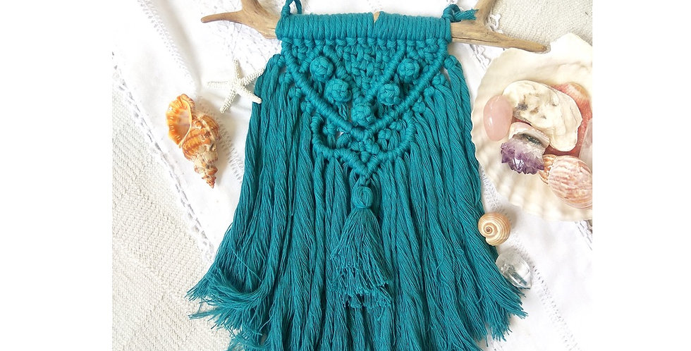 'Sea Fairy' macrame wall hanging