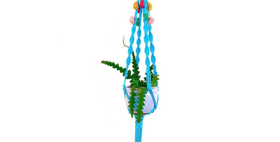 'Tropical' Macrame Plant Hanger