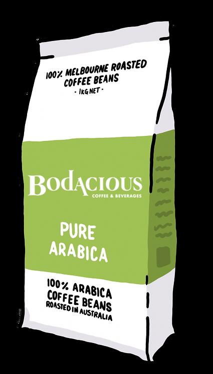 'Pure Arabica' Coffee Beans 1kg