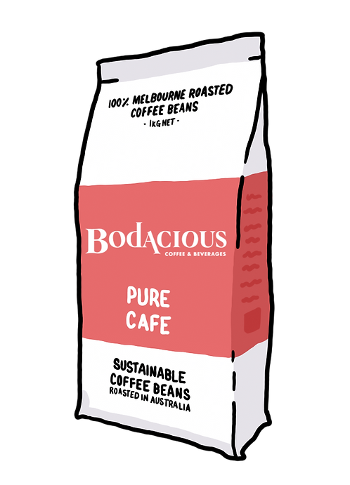 'Pure Cafe' Coffee Beans 1kg