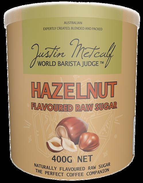 Hazelnut Flavoured Raw Sugar 400g