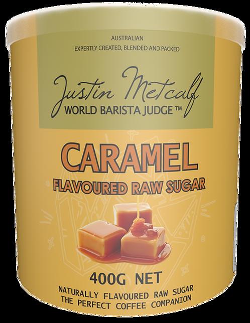 Caramel Flavoured Raw Sugar 400g