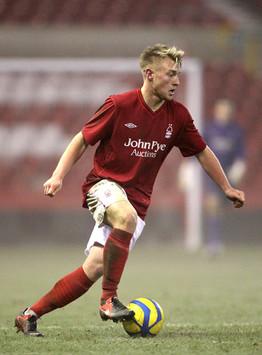 Professional Footballer Jack Blake