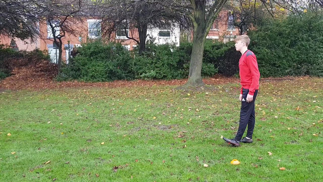 Footballer absorb Sprint drills