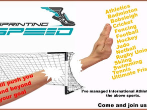 Push your dream to and beyond your Sporting Goals