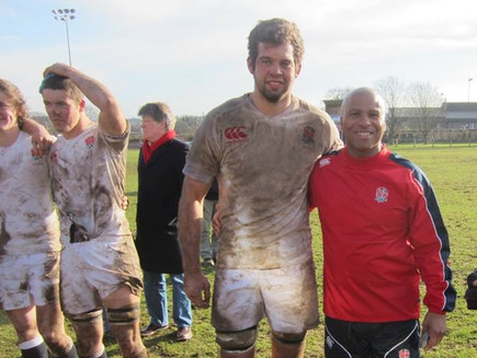 England Students Captain Josh Beaumont win over Wales Students