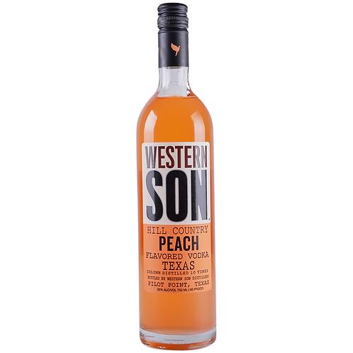 Western Son Peach Vodka