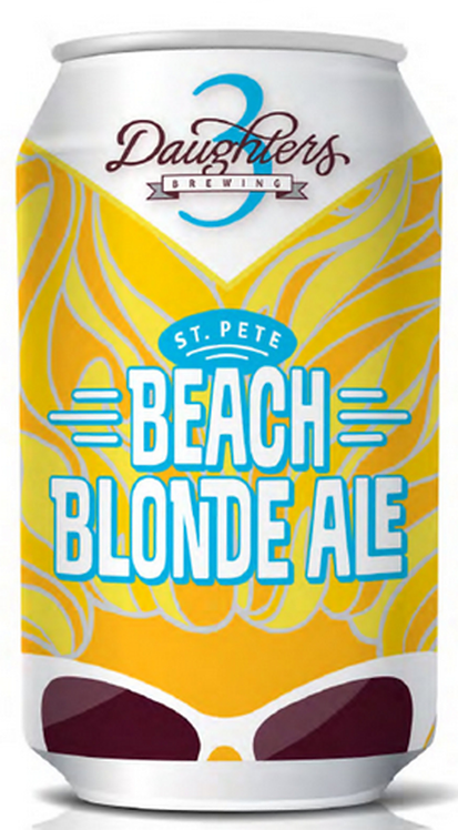 3 Daughters Beach Blonde Ale