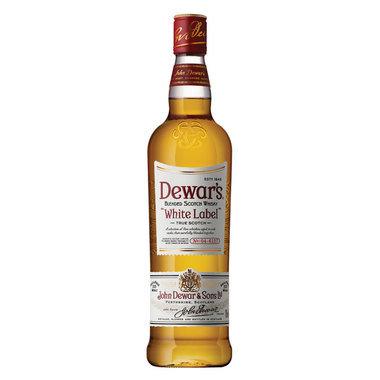 Dewars White Label Blended Scotch Whiskey