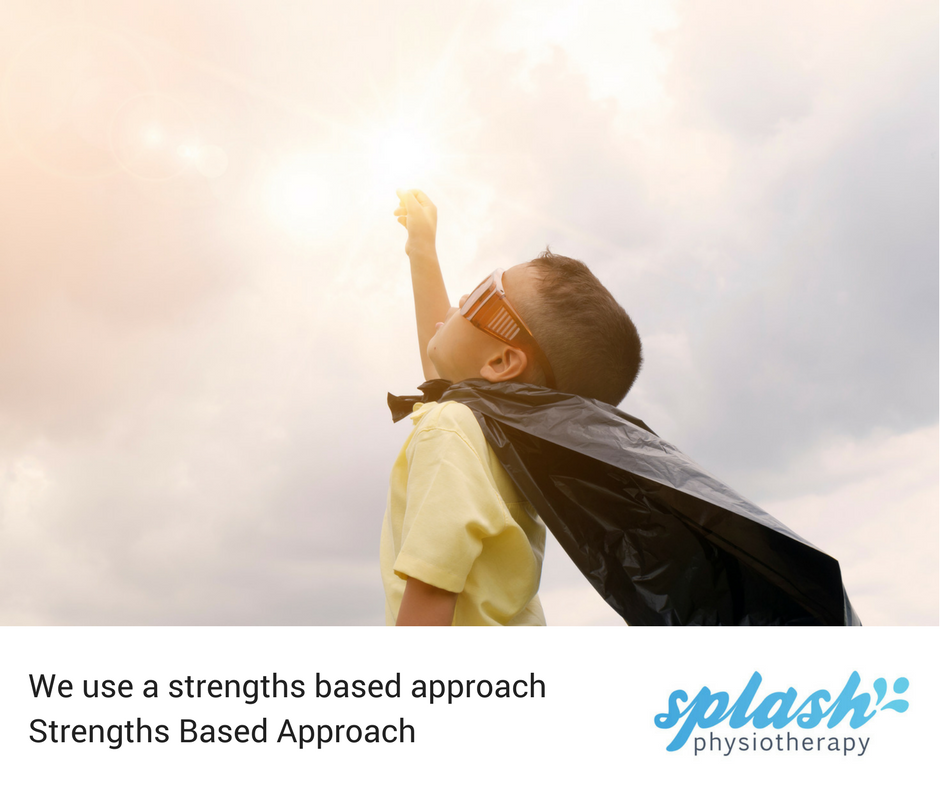 Splash uses a strengths based approach