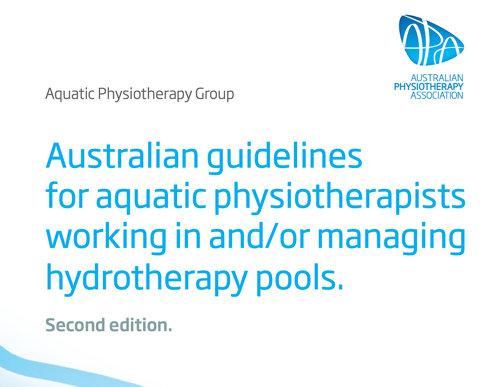 APA guidelines for aquatic physiotherapists