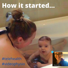 Telehealth in the bath? Sure, why not!