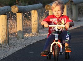 Tricycle, Bike riding physiotherapy, learn to ride a bike, Melbourne, NDIS, Splash Physiotherapy