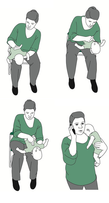 A child is choking. Do you know what to do?