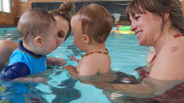 Facilitating inclusion in swimming lessons for children with specific learning needs