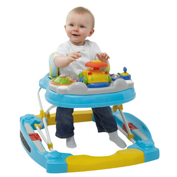 Are baby walkers helpful?