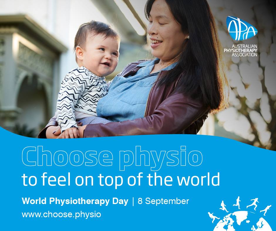 Choose physio, mother with baby