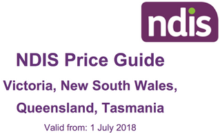New NDIS price guide 18-19 released