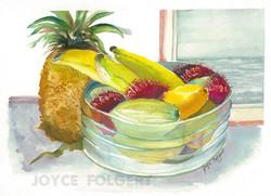 Hawian Fruit Bowl