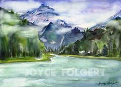 Glacier Misty Mountain