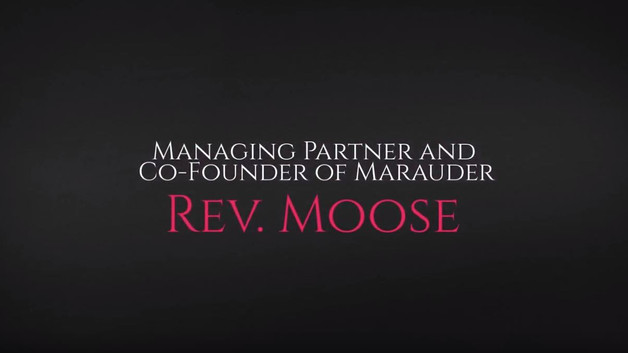 Advisable Interviews... Rev Moose, Managing Partner and Co-Founder of Marauder
