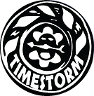 Barometer themed logo for the audi ficton series, Tmestorm.