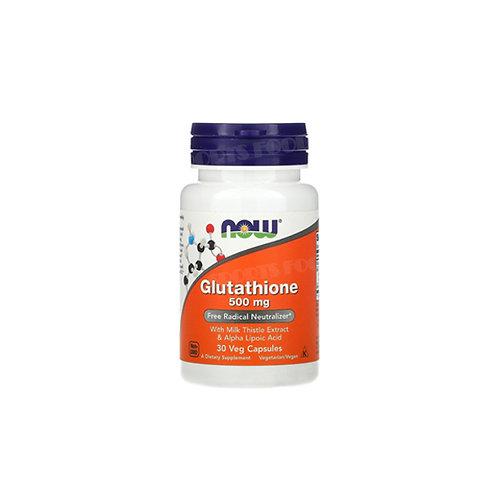 NOW -Glutathione 500 мг 30 вег капс