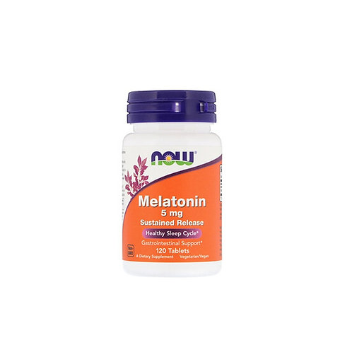 NOW-Melatonin 5 mg 120 таб