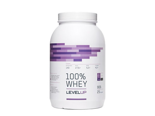 LevelUp-100% Whey 908 г - ваниль