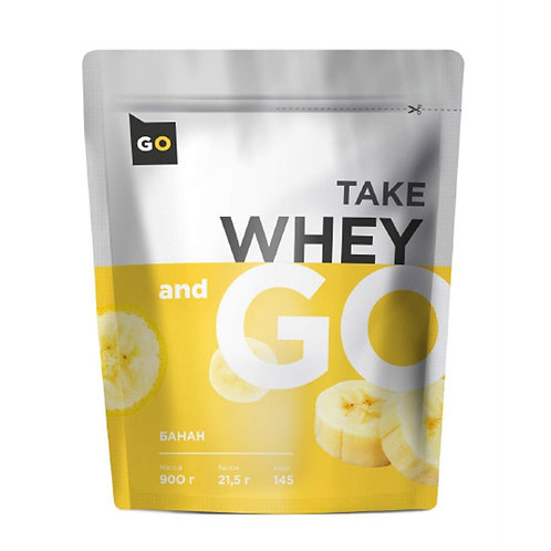 Take and Go-Take and Go  Whey 900 гр - клубника