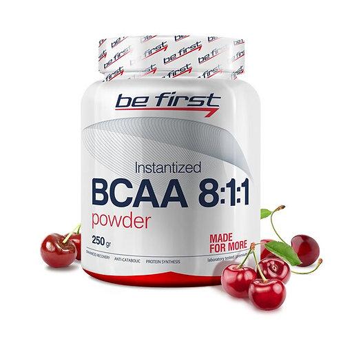 Be First-BCAA 8:1:1 INSTANTIZED powder 250 гр - вишня