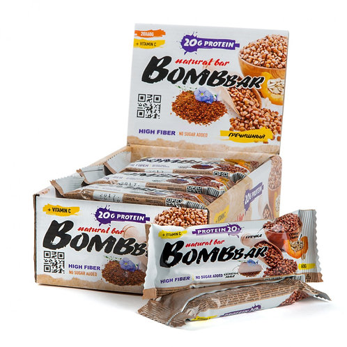 BOMBBAR-Батончик Bombbar 20*60 г - гречиха
