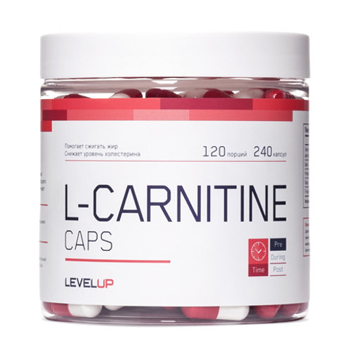 LevelUp-L-Carnitine 240 капс