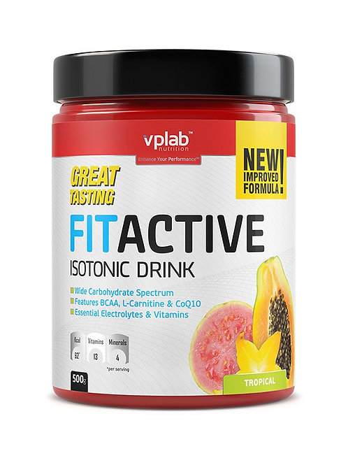 VP Laboratory-FitActive Isotonic Drink 500 г - тропические фрукты