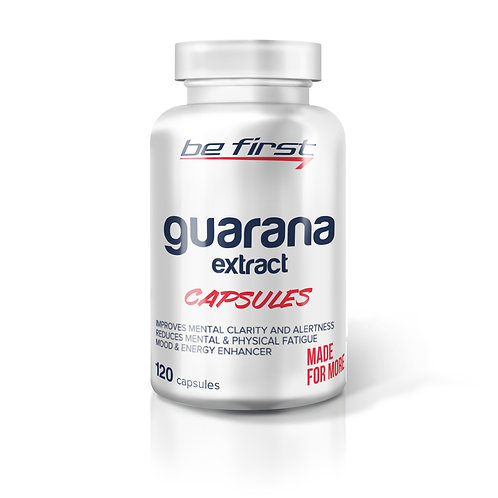 Be First-Guarana extract capsules-120 капс