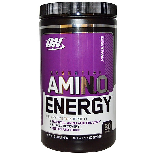 Optimum Nutrition-Amino Energy 270 гр - виноград